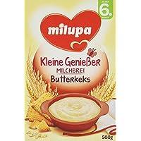 Milupa Kleine Genießer Milchbrei Butterkeks ab dem 6. Monat (4 x 500 g Packung)