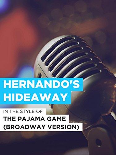 Hernando's Hideaway im Stil von