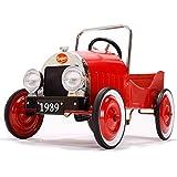 Le Petit Nouveau - Coche de pedales, color rojo (Baghera Clasico)