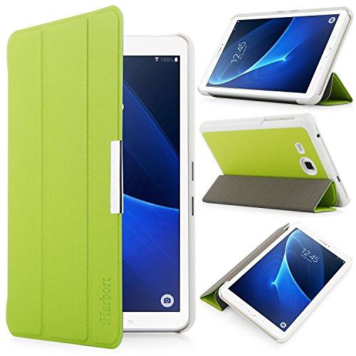 iHarbort® Samsung Galaxy Tab A 7.0 Hülle - Ultra Slim Leder Tasche Hülle Etui Schutzhülle Für Samsung Galaxy Tab A 7.0 Zoll T280 T285 Case Cover Holder,(Galaxy Tab A 7.0, Grün)