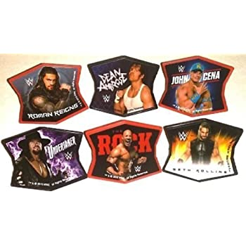 Personalised ROMAN REIGNS WWE Birthday Cake Topper A4 Icing Sheet anyNAMEage