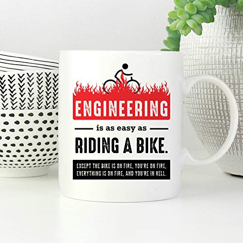 Engineer Gifts Men Funny Engineer Mug Electrical Engineer Mechanical Engineer Civil Engineer Coffee Mug Engineer Graduation Gift (Engineer Mechanical Mug)