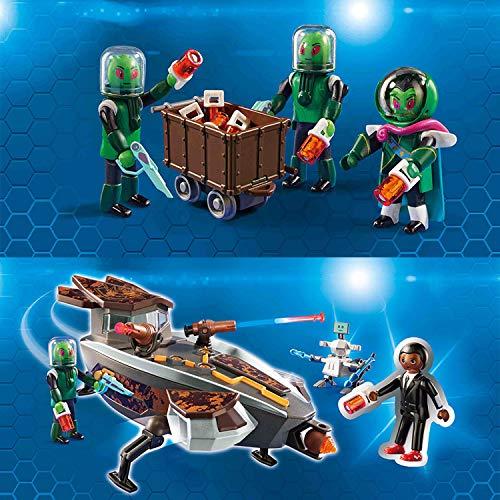 Preisvergleich Produktbild PLAYMOBIL Super4 Sykonischer Raumgleiter mit Gene 9408 und Sykonier 9411 Spielset
