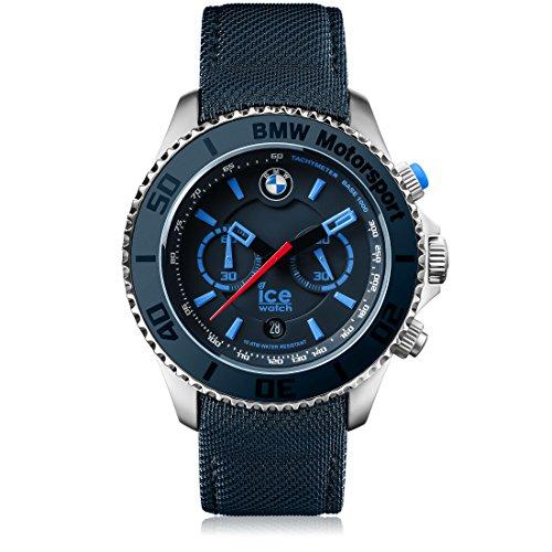 Ice-Watch - BMW Motorsport (Steel) Dark & Light BE - Blau Herrenuhr mit Lederarmband