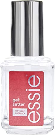essie Gel Setter, Nail Polish Top Coat, Clear, 13.5 ml