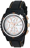 Maxima 37451PPGN Hybrid Chronograph White Dial Men's Watch (37451PPGN)