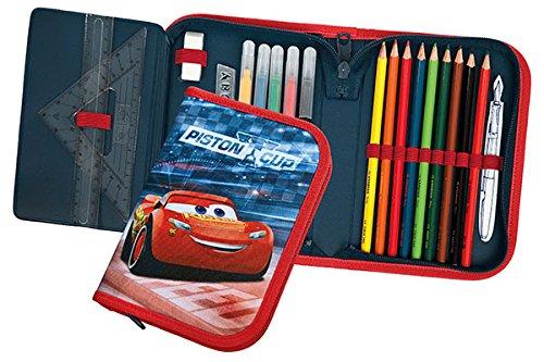 Undercover CAAD0443 Material Escolar Estuche con Cremallera Stabilo Serie Disney Pixar Cars