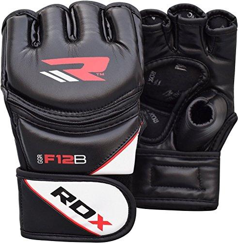 RDX MMA Kampfhandschuh aus Rindsleder, Größe M