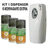 KENYASAFE EXTRA 6 bombole insetticida da 250 ml con erogatore COPYRMATIC
