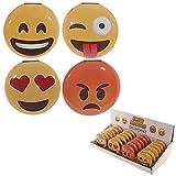 Design Emoji Emoticon Specchio Specchietto da borsa con smile sorriso