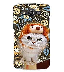 PrintDhaba Kitty D-4657 Back Case Cover for SAMSUNG GALAXY WIN i8552 (Multi-Coloured)