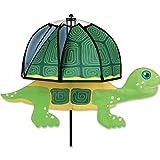 Windspiel - Magical Turtle Dot - UV-beständig und wetterfest - Windrad: Ø40cm