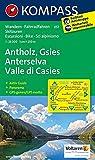 Antholz - Gsies - Anterselva - Valle di Casies: Wanderkarte mit Aktiv Guide, Panorama, Radwegen und alpinen Skirouten. GPS-genau. 1:25000 (KOMPASS-Wanderkarten, Band 57) -