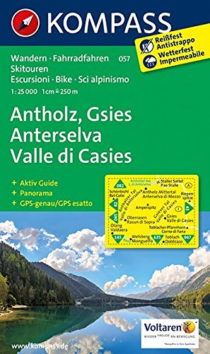 ANTHOLZ/GSIES/ANTERSELVA/VALLE DI CASIES 057  1/25.000