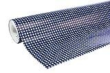 Clairefontaine 201413C Rouleau papier cadeau Alliance 60g 50x0,70m Motif Quadrillé bleu