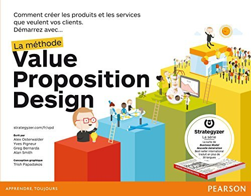 Portada del libro Methode value proposit. design by Osterwalder Alexander Pigneur Yves (June 29,2015)