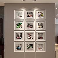 Conjunto de Marcos- Cartelera de Pared de Madera Maciza Cartera de Fotos Creative Company Cultura