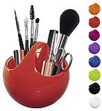 Spirella Kosmetikorganizer 'Bowl' Aufbewahrungsbox für Make Up und Schmuck 10,5x9,5cm Rot