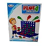 Plot 4 Color Connect 4 Game