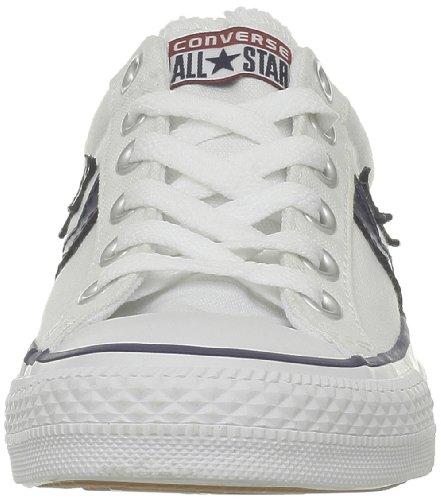 Converse  Sp Core Canv Ox,  Sneaker unisex adulto Multicolore (Blanc/Noir)
