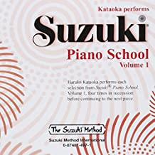 Suzuki Piano School Piano CD 1: Performed by Haruko Kataoka