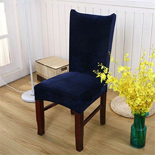 Dekoration Stuhl-Abdeckung Stretch-Stuhlbezug elastische moderne Husse Esszimmer Hochzeit Bankett (5)