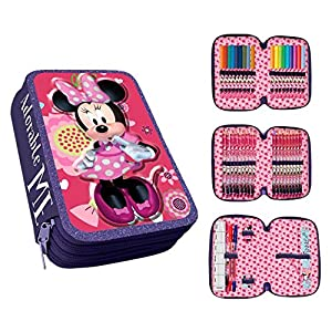 Disney Minnie Mouse AS013/AST1780 – Estuche, 20 cm, Multicolor