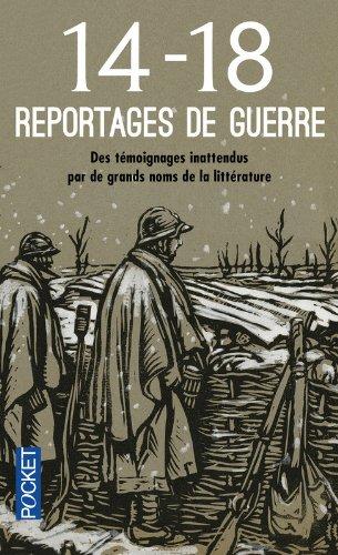 Reportages de guerre 14-18 par COLLECTIF