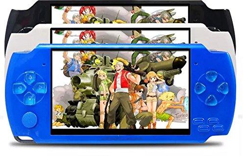 X6 4,3 Zoll-Handspielkonsole tragbarer Videospiel-Spieler mit10000 Spielen 8GB