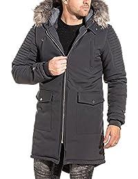 magasin d'usine ca969 565c4 Amazon.fr : parka homme fourrure - BLZjeans : Vêtements