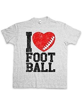 I Love Football I T-Shirt – Tamaños S – 5XL