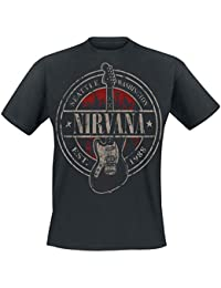 Nirvana Seattle 1988 T-shirt noir