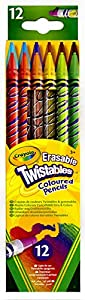CRAYOLA - 12 lápices twistables, de Colores (68-7508)