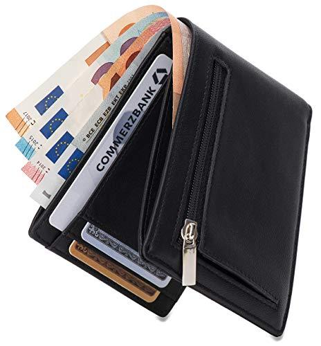 Geldbörse mit Münzfach - RFID Sc...