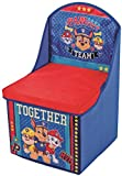 BLUE Paw Patrol Kids Chair with Storage Boys Bedroom Furniture