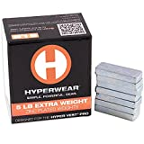 HyperWear Set di 35pesi aggiuntivi (2,3kg in totale), per gilet con pesi Hyper Vest Pro