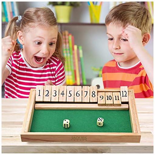Shut-The-Box-Spiel-12-Numbers-Holzspiele-fr-Erwachsene-Klappbrettspiel