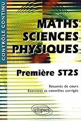 Mathématiques-Sciences physiques 1e ST2S