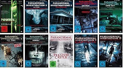 Paranormal Investigations 1-10 DVD Set, deutsch, 1,2,3,4,5,6,7,8,9,10, uncut,