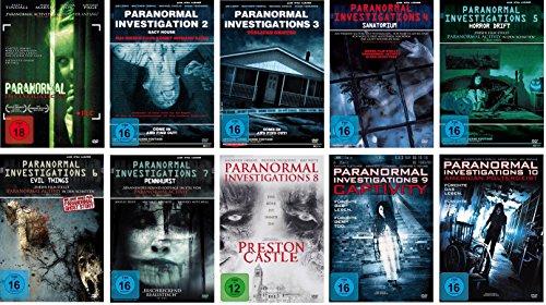 Paranormal Investigations 1-10 DVD Set, deutsch, 1,2,3,4,5,6,7,8,9,10, uncut, I-X (Die Dvd Zombie-filme Auf)