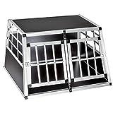 TecTake Alu Hundetransportbox - (Double)