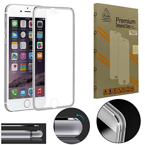 Tutti Apple iPhone 3d bordo a bordo completo Gorilla vetro temperato Proteggi schermo premium per Apple Iphone da gorilla Tech® Invisible Shield trasparente qualità HD - Bordo Pocket Knife