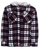 Hoang Textil GmbH Thermohemd Arbeitsjacke Herren Holzfäller Wärmeisolierend, Farbe:grau, Größe:2XL