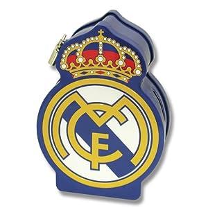 Real Madrid-HM-20-RM Real Madrid Hucha metal escudo 18x13x6cm, multicolor, 15x10x10 cm (CYP Imports HM-20-RM)