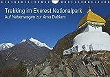 Trekking im Everest Nationalpark - Auf Nebenwegen zur Ama Dablam (Wandkalender 2019 DIN A4 quer): Eine Trekkingtour zum Ama Dablam Basislager abseits ... (Monatskalender, 14 Seiten ) (CALVENDO Orte)