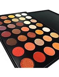DE'LANCI Professional 35 Couleur Kit Maquillage Waterproof Fard à Paupières Palette