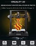 Zweifarbige DIY CR X 3D Drucker Kits 2018