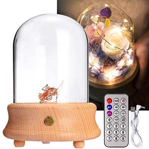 Bangxiu-home Lámpara de Mesa, Tabla de Madera de la lámpara ...