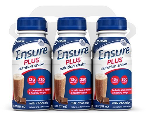 ensure-plus-nutrition-shake-milk-chocolate-8-ounce-bottle-6-count-pack-of-4-by-ensure