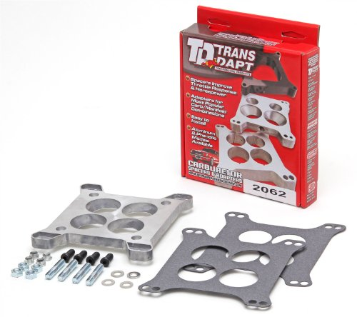TRANS-DAPT 2062 Carburator Adapter w/Hold Down Bolts